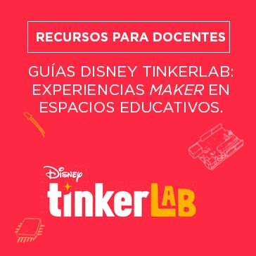Guías Disney Tinkerlab